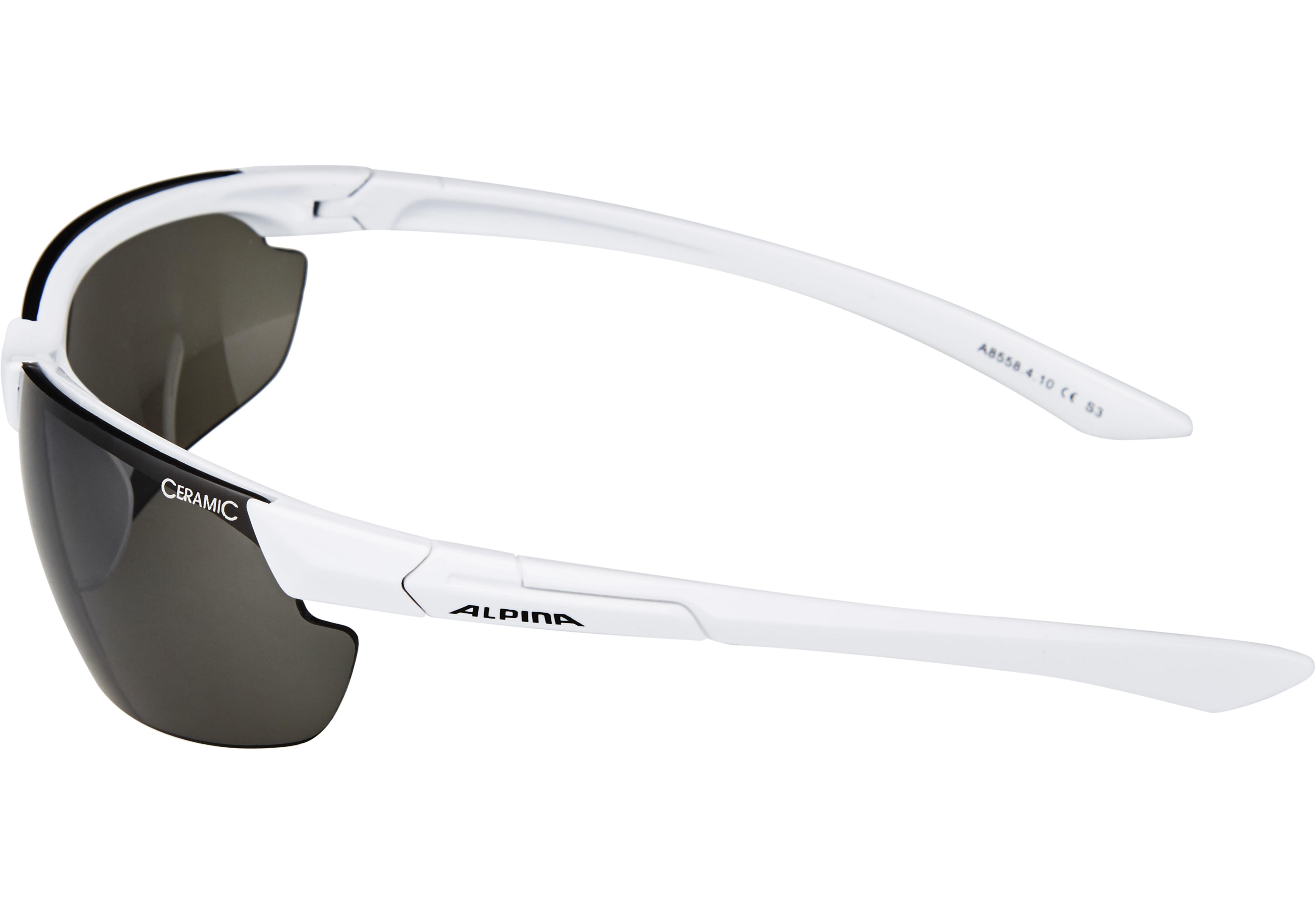 bdc16bfef7 Alpina Draff Bike Glasses white at Bikester.co.uk